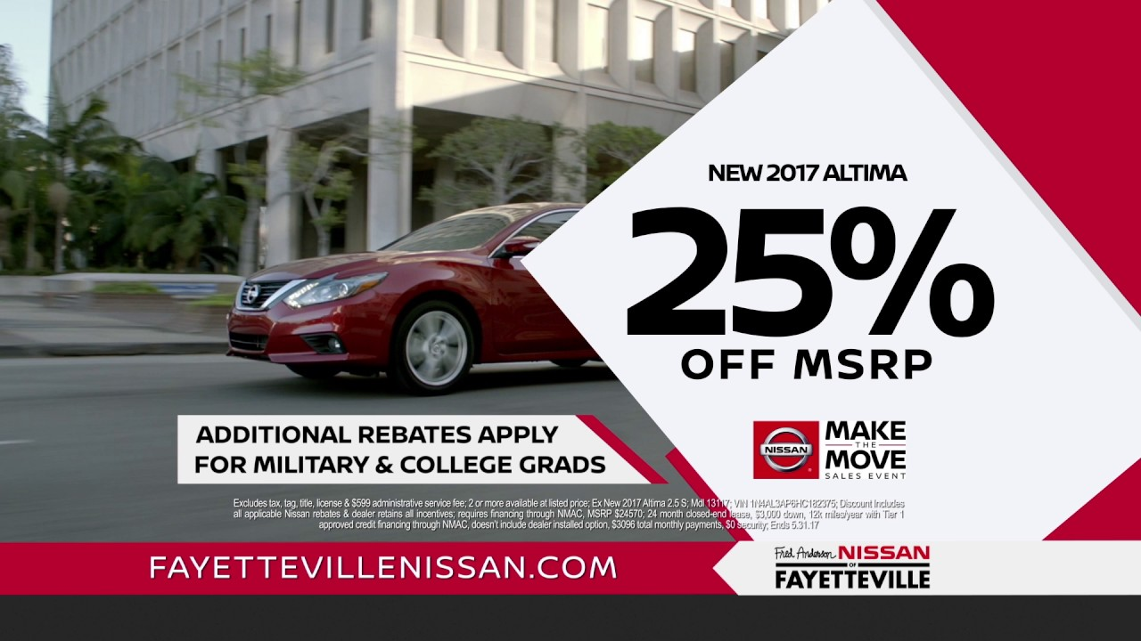 Wonderful Fred Anderson Nissan Of Fayetteville   Want More Performance Altima
