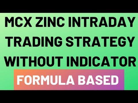 Mcx Zinc Intraday Trading Strategy