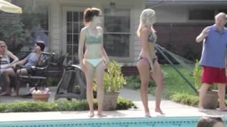 Danny Boone - Camo Bikini - Behind the Scenes