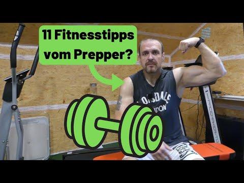 Prepper sollten gesund und fit sein? 11 Fitnesstipps! ????????