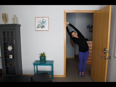 Oblique Abdominis Stretches-Pregnancy
