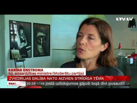 Zviedrijas dalība NATO aizvien strīdīga tēma