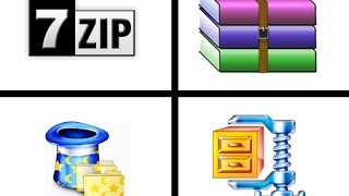 How to extract files using 7zip microsoft windows 7  8,windows 8.1, windows 9 windows 10