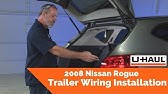 Best 2008 Nissan Rogue Trailer Wiring Options - etrailer.com ... Nissan Rogue Hitch Wiring Harness on