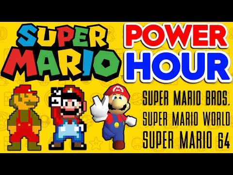 SUPER MARIO POWER HOUR | Attempting To Beat 3 Mario Games In 1 Hour!!