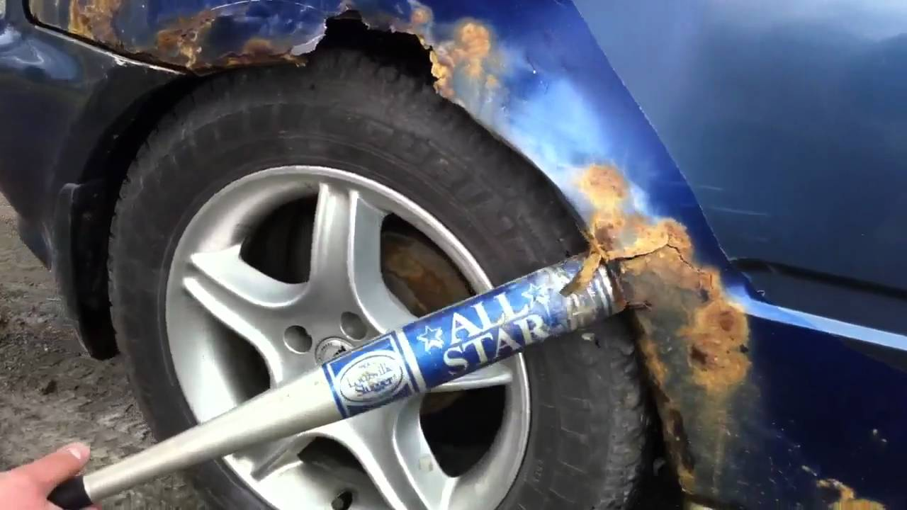 How To Remove Paint From A Car Fender