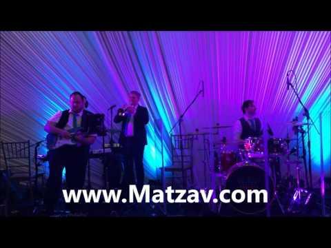 Shmueli Ungar and Sympinny Band at the Ortner Polak Wedding