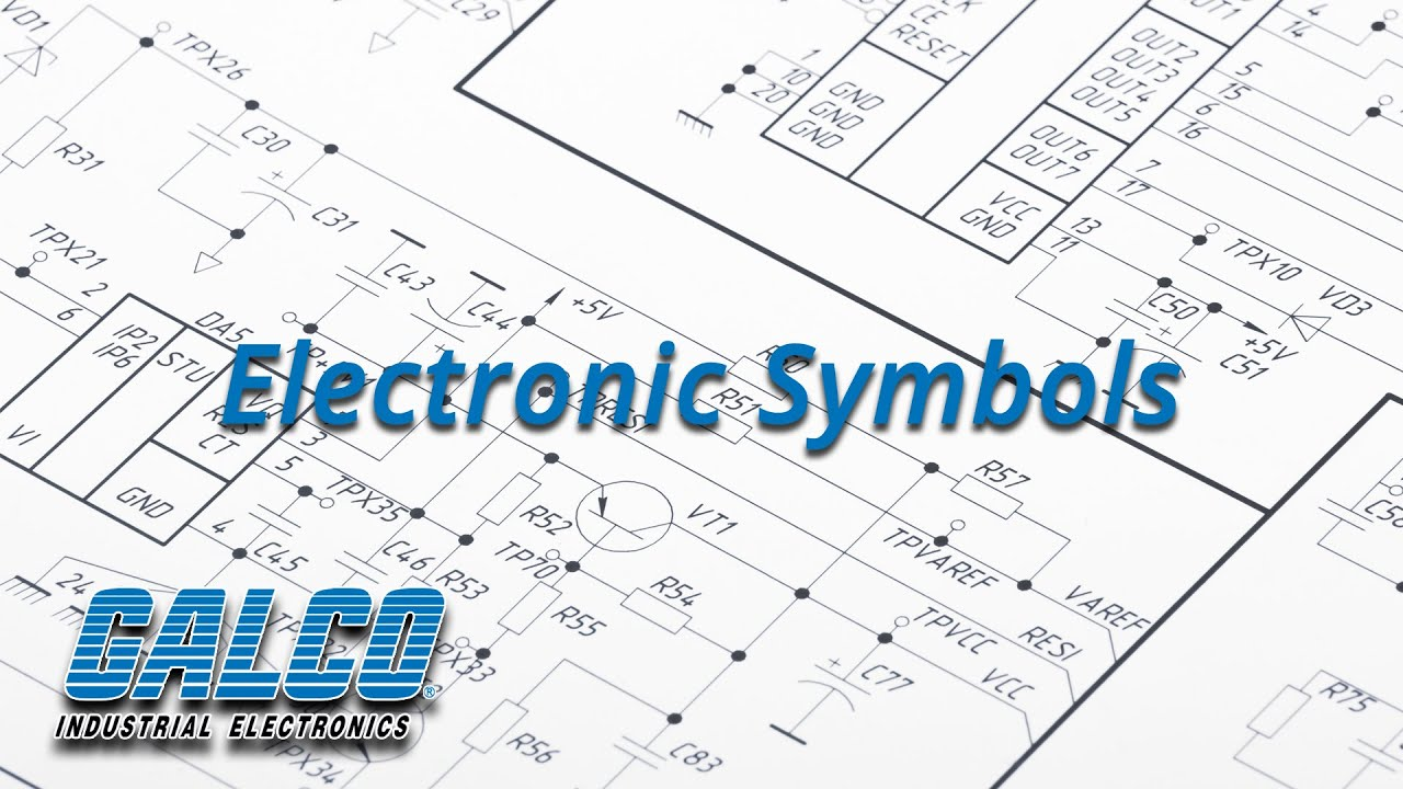Common Electrical Symbols Used In Industrial Electrical Diagrams A