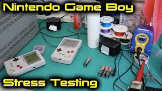 Nintendo Game Boy Tetris Stress Testing