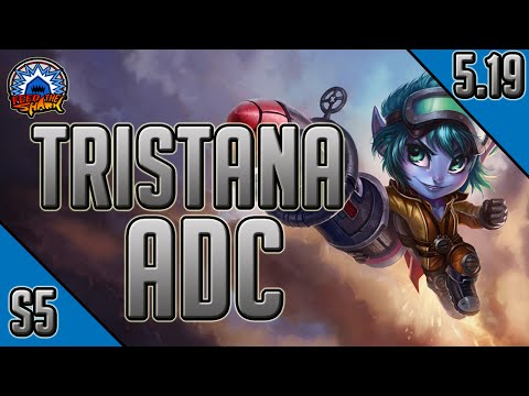 League of Legends - Rocket Girl Tristana ADC - Full Game Commentary