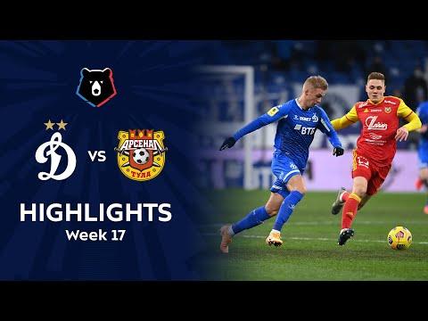 Dinamo Moscow Arsenal Tula Goals And Highlights