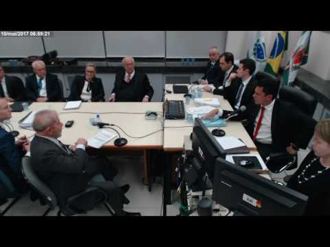 Depoimento do ex presidente Luiz Inácio Lula da Silva ao juiz Sérgio Moro pt20