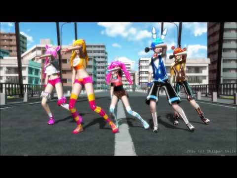 (MMD x FNAF2) Dance Again [|Toys + Cupcake Models Test|]