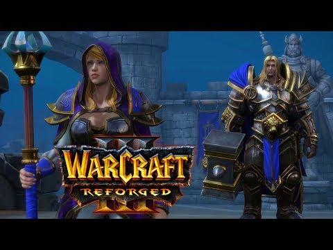 ПРОХОЖДЕНИЕ КАМПАНИИ АЛЬЯНСА С КЛАССИЧЕСКОЙ ОЗВУЧКОЙ НА СТРИМЕ! - Warcraft III: Reforged