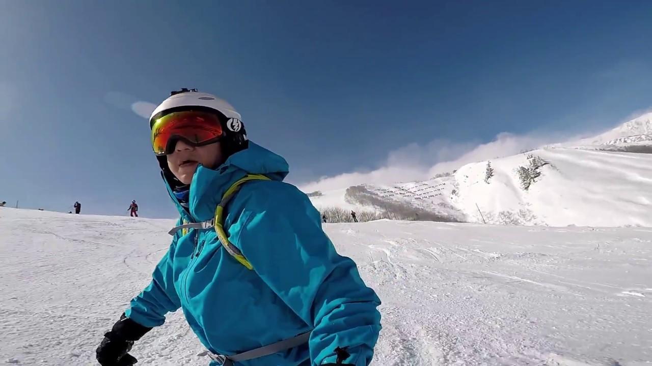 2017 日本白馬滑雪 Hakuba Japan - YouTube