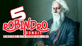 Top 5 robindro songit ringtone | Best robindro song tone | Robindro Songit | Bangla ringtone |