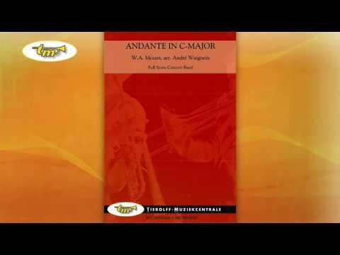 Andante In C Major - Concert Band - Mozart - Waignein - Tierolff