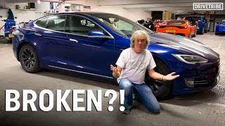 James May's Tesla Model S has failed!