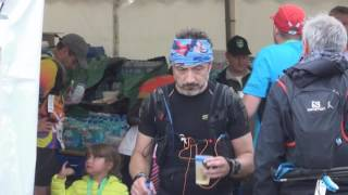 Mont Blanc Marathon 2016 the finish line