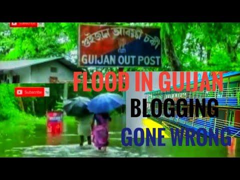 Guijan Flood Blogging. Gone Wrong🚫