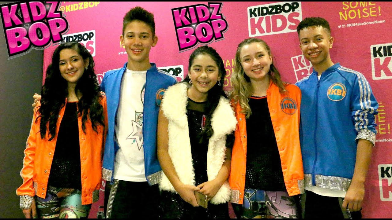 Kidz Bop Kids Interview and Concert at Club Nokia ...