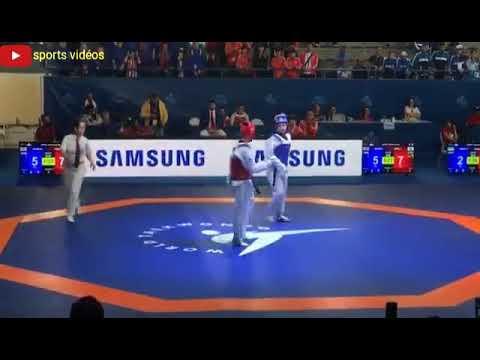 Korea vs Great Britain Quarter final Female (-59Kg)|2018 World Junior Taekwondo Championships