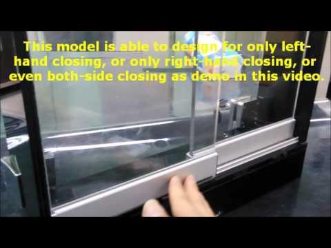 Armstrong Digital Locks -SDGS 002 - Invisible Sliding Glass Door Lock