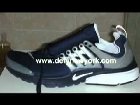 release date 5b0af 5abcd Nike Air Presto ID 2004 Navy Blue Metallic Silver Review