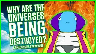 WHY ARE THE UNIVERSES BEING DESTROYED? | A Dragonball Discussion