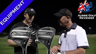 NEW COBRA KING F8 & F8+ FAIRWAY WOOD REVIEW