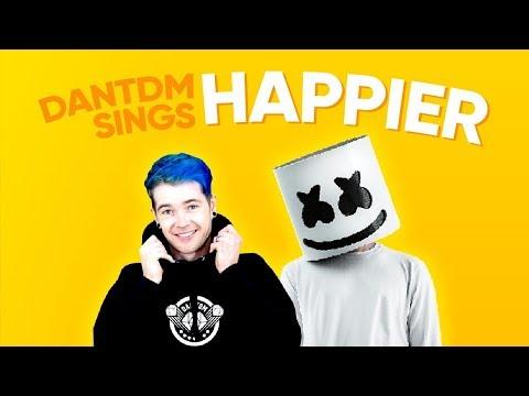 DanTDM Sings Happier 1 HOUR