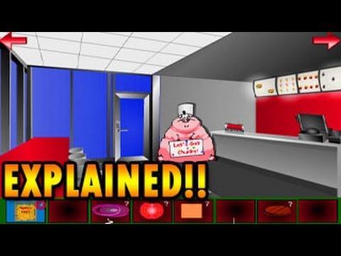 Fast Food Escape Walkthrough Room Escape By Nickelodeon