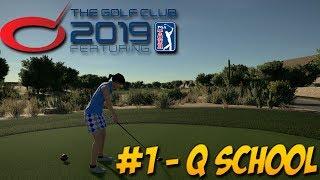 The Golf Club 2019 - PC Gameplay 1440p - Career #1 Q School Final