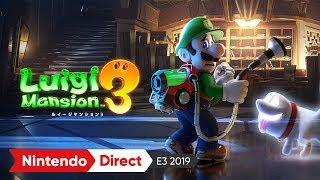 ルイージマンション3 [E3 2019 出展映像]