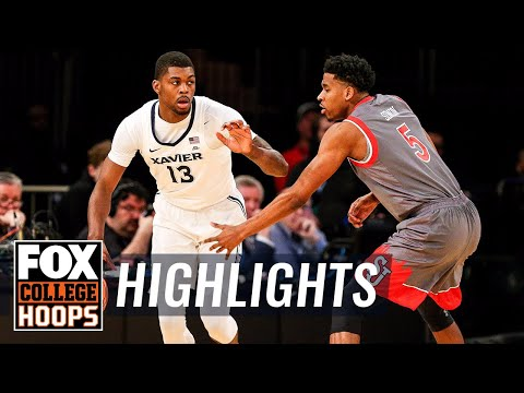 Xavier vs St. John's | 2018 Big East Tournament | Highlights | FOX COLLEGE HOOPS
