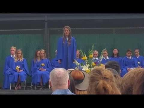 Riley Theme Speech at Carden Hall 8th Grade Graduation