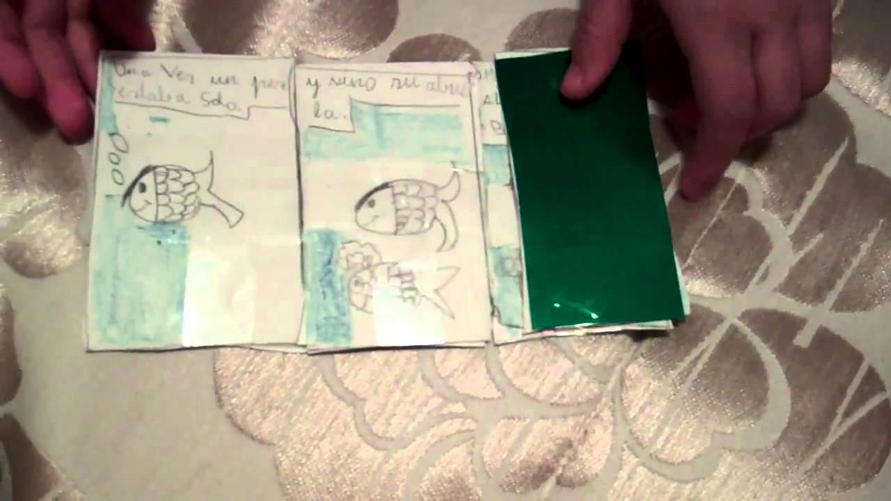 V deo de un cuento plegable con ilustraciones youtube - Friso de papel ...