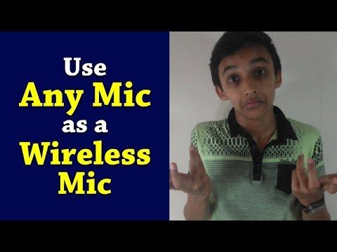 Use Any Mic as a Wireless Mic | Tech MS