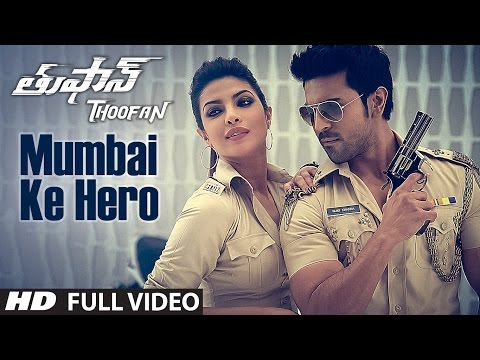 Mumbai Ke Hero Full Video Song || Thoofan || Ram Charan,Priyanka Chopra || Telugu Songs