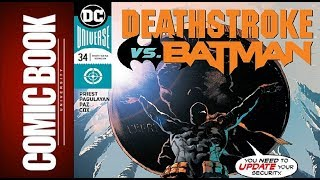 Deathstroke #34 | COMIC BOOK UNIVERSITY