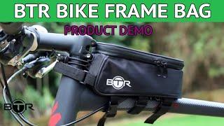 btr bike bag phone holder phone mount with rain cover