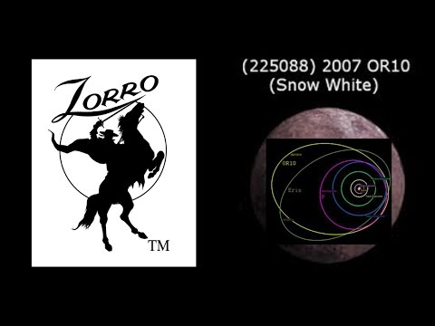 2007 OR10 - Possible Dwarf Planet - ZORRO! - Tyrion. or Snow White?