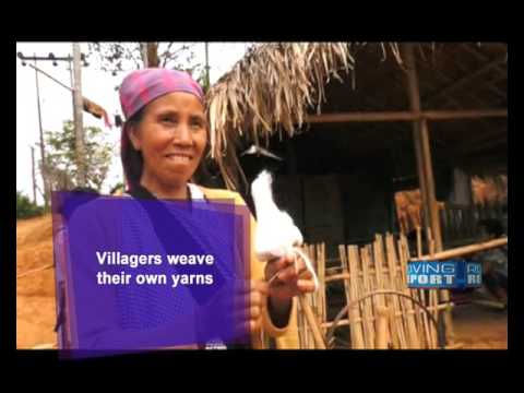 TRADITIONAL WEAVING PROVIDES AN ALTERNATE SOURCE OF INCOME IN MEGHALAYA