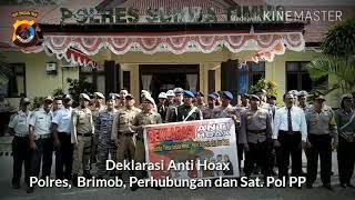 Deklarasi Anti Hoax Polres, Brimob, TNI, Pol PP & Dinas Perhubungan Kab. Sumba Timur thumbnail
