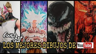 LOS MEJORES DIBUJOS DE YOUTUBE 2018 |  THE BEST DRAWINGS OF YOUTUBE 2018