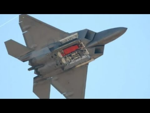 Two U.S. F22 Raptors Intercept And Fire Warning Shots At  Russian Warplanes Over Syria..