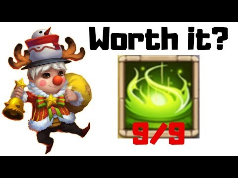 Lil Nick | 9/9 Vigorous Fury | 12/12 Skill | Castle Clash