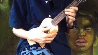 キング・クリムゾン初期のアコギ・インストをウクレレで弾いてみました。