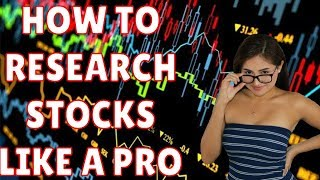 How to Research Stocks and Succeed in the Stock Market