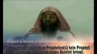 Die Bedeutung von - Chatem - Anti-Ahmadiyya gesteht das Propheten kommen können.MP4